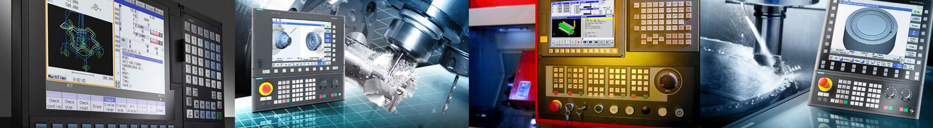 CNC Controls Panel  Siemens & Fanuc  WD Hearn