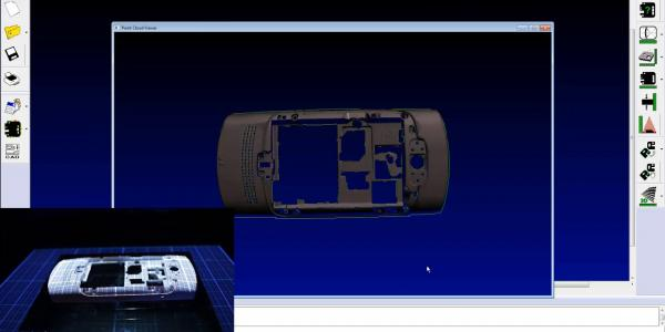 Accuity Inspection of a phone in 2D and 3D