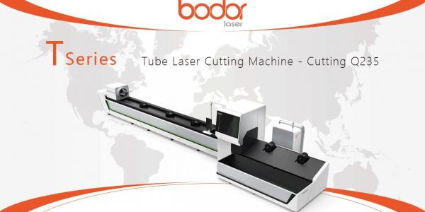 BODOR T230 Laser Cutting Machine Cutting 4mm Carbon Steel Tube - BODOR® Laser Cutting Show