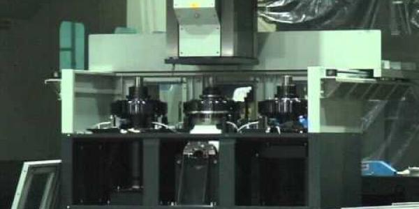 Moving column double column machine-head change 2