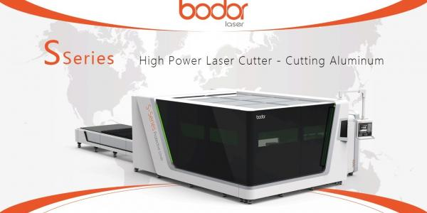 S Series Laser Cutting Machine Cutting 12mm Aluminum - BODOR® Laser Cutting Show