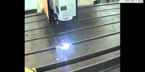 Sisma OEM Series Special application of laser mounted on CNC