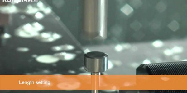 Tool setting with a Renishaw probe